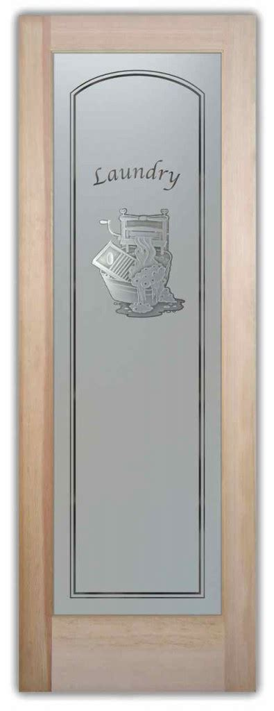 Laundry Room Doors Frosted Glass Laundry Room Doors With Custom Frosted Glass Door Inserts Sans Soucie Glass