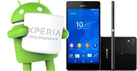 Hp Sony Android Marshmallow sony xperia c4 actualiza a android 6 0 marshmallow poderpda