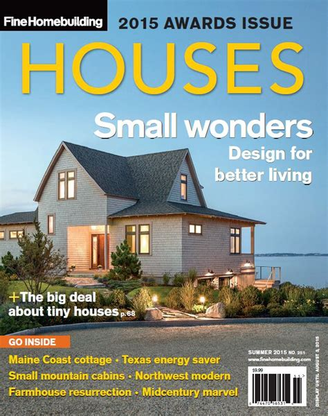 issue 259 houses 2016 fine homebuilding announcing fine homebuilding s 2015 houses award winners