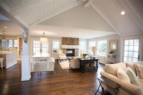 open floor plan farmhouse i love jenny keller s home it is so beautiful relaxing