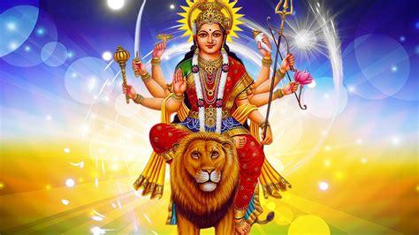 happy navratri maa durga images  hd wallpaper