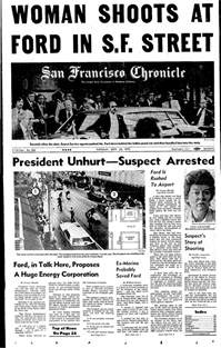chronicle covers the sf assassination attempt on
