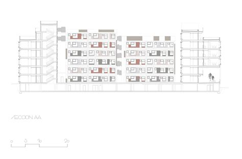 section 5 housing gallery of barajas social housing blocks embt 34