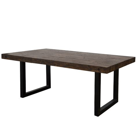 new york regular dining table 72 quot coffee bean dining