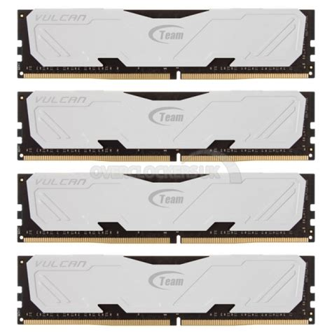 Memory Ram Team Vulcan Series Ddr4 16gb 2x8gb Murah 3 team vulcan 16gb 4x4gb ddr4 pc4 24000 ocuk