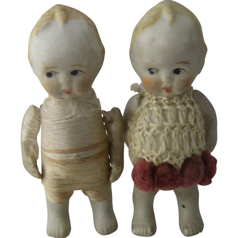 nippon bisque doll pair early 1900s bisque japanese nippon dolls porcelain