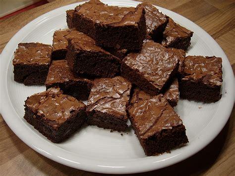 brownie kuchen rezept einfach g 246 ttliche brownies rezept mit bild karamellina