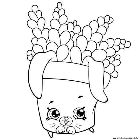 shopkins coloring pages of petkins cute fern to color petkins shopkins coloring pages printable