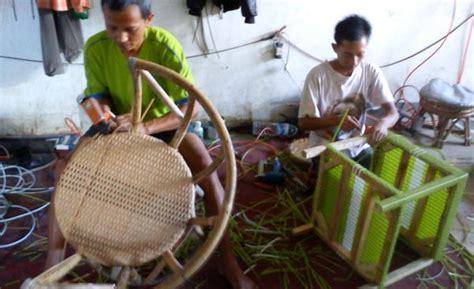 Kursi Bambu Malang lit rotan tikar kalimantan karpet rotan