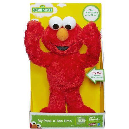 Peek A Boo Elmo Sesame playskool sesame my peek a boo elmo walmart