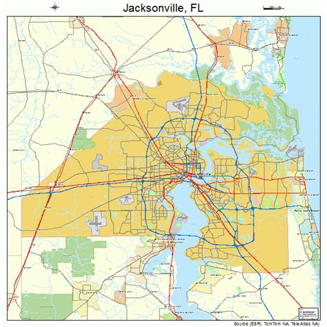 map of jacksonville fl map jacksonville florida afputra