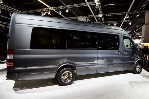 luxury mercedes van brabus sprinter and v class fill the luxury van gap in