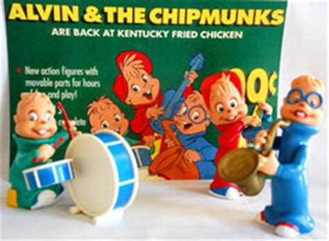 Chaki Kfc Alfin And The Chipmunks chipmunks figures ghost of the doll