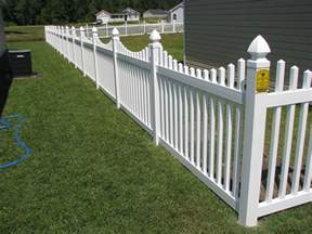 Front Yard Fence Cost - vinyl fencing commercial and residential fences