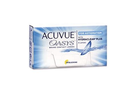 Acuvue Oasys For Astigmatism 400 by Johnson Johnson Acuvue Shop At Visique