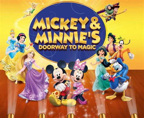 Magic Mickey And Minnie Disney Doorway To Live | disney live mickey and minnie s doorway to magic modell