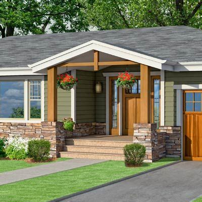 ranch style homes and porches on idolza different exterior home photoshop redo craftsman makeover for a no frills ranch