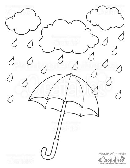 umbrella coloring pages printable rainy day umbrella free printable coloring page free