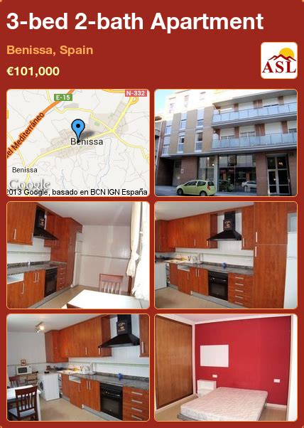 3 bed 2 bath apartment 3 bed 2 bath apartment in benissa spain 101 000