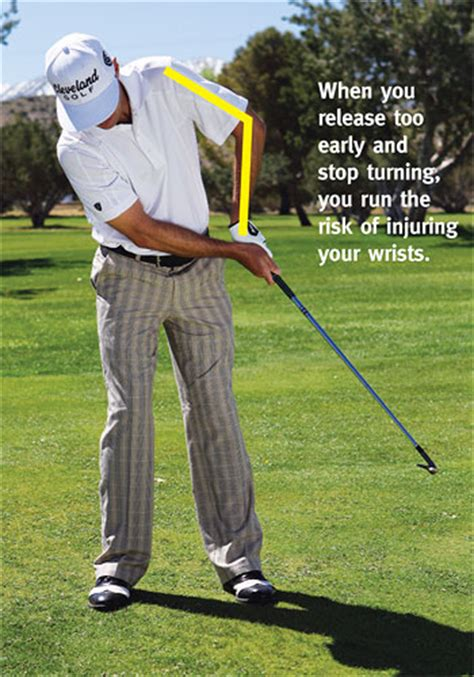 no release golf swing iron play simplified golf tips magazine