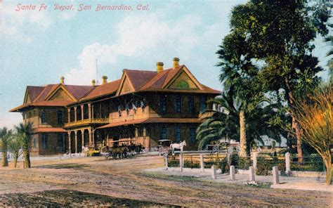 san bernardino history railroad museum home
