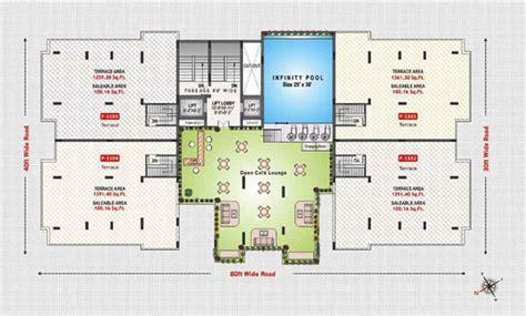augusta floor plan 2085 sq ft 3 bhk 3t apartment for sale in rajul augusta