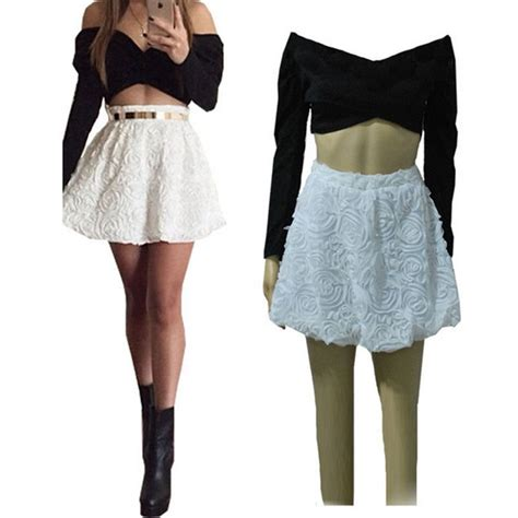 Crop Skirt crop top and high waisted skirt set www pixshark