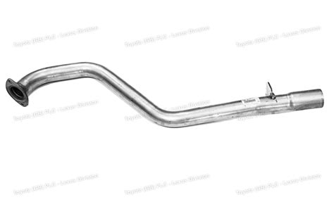 Toyota Hilux Muffler Genuine Toyota Hilux Exhaust Pipe Assembly 174050l111
