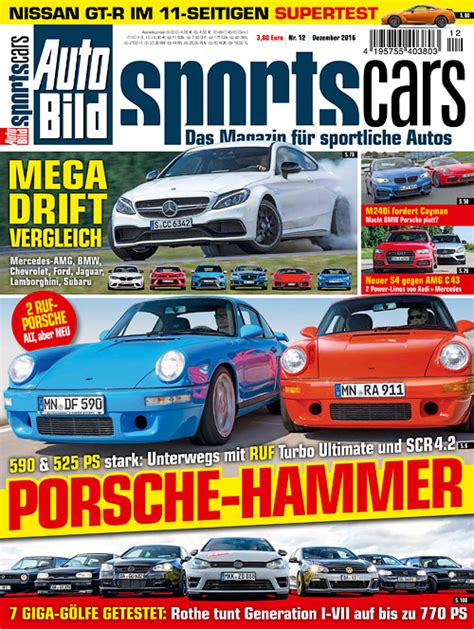 Auto Bild Sportscars Sonderheft 1 2016 by Auto Bild Sportscars Dezember 2016 187 Archive Of
