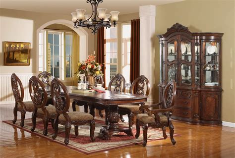 dining room sets 7 piece east west furniture parfait 7 piece inch 54 square dining