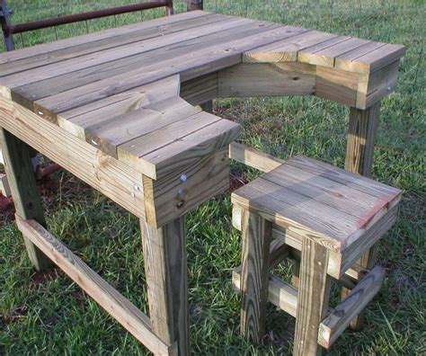 homemade shooting bench plans best 25 shooting bench ideas on pinterest shooting