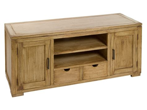 mueble natural mueble tv de madera natural envejecida mesas de televisi 243 n