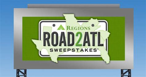 regions road 2 atl sweepstakes 2017 - Road To Atl Sweepstakes