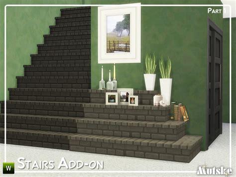 stairs add  part   mutske  tsr sims  updates
