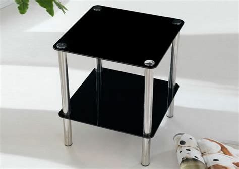 Bathroom Table Stand by 2 Tier Square Glass Stand Coffee Table Bathroom