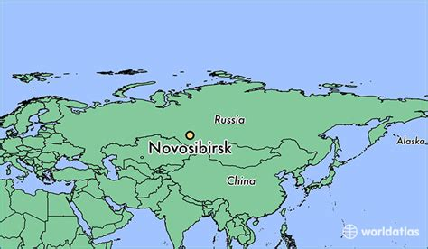 novosibirsk map where is novosibirsk russia where is novosibirsk