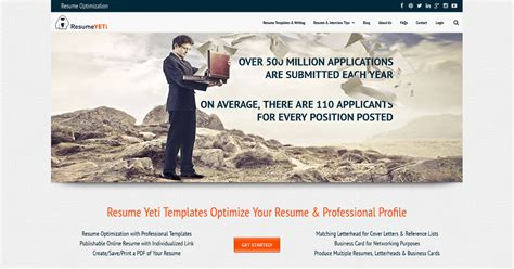 Resume Yeti by Resume Yeti Resume Templates Optimized For Ats