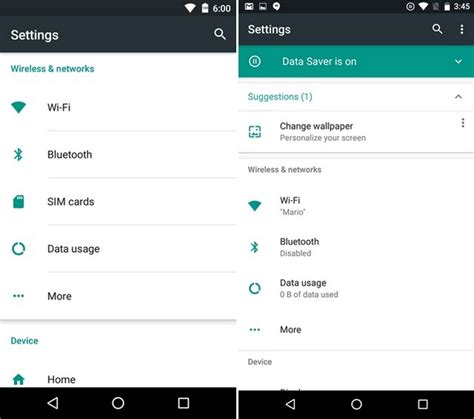 android preferences android n vs android marshmallow what has changed beebom