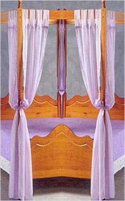set of lace curtains for four poster bed set of voile polyester four poster bed curtains