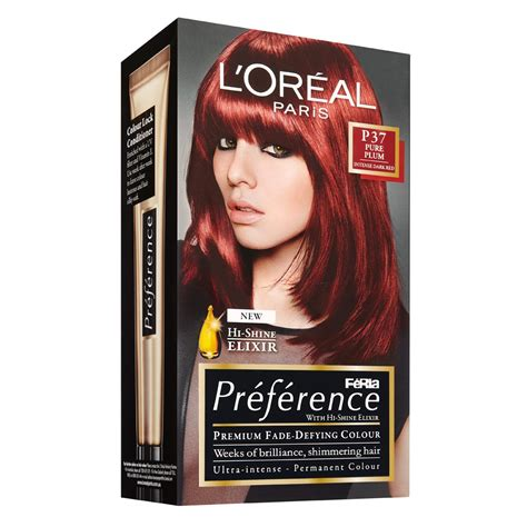 large dark brown l shades loreal dark red hair colour best hair color 2017