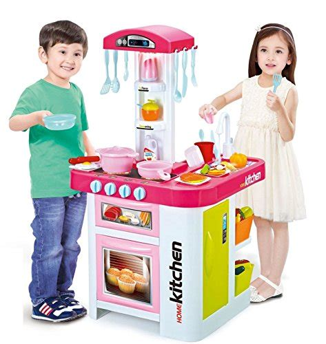 play kitchen with working sink childrens electronic kitchen set with working water
