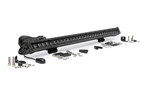 30 inch led light bar 30 inch single row cree led black series light bar