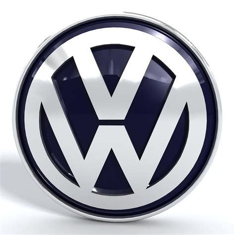 volkswagen logo volkswagen vw logo 3d model max obj 3ds fbx stl dwg