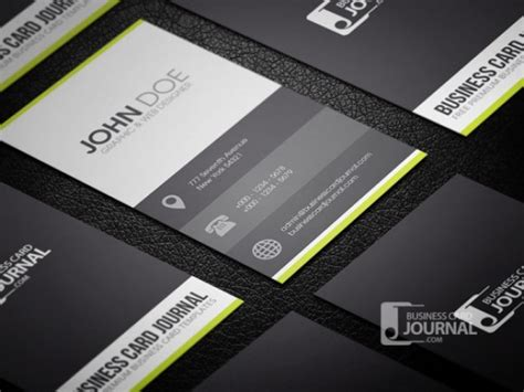 business card template free psd clean business card template in metro style psd file