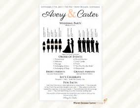 one page wedding program template one page wedding program template www imgkid the