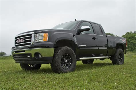 2012 gmc lift kit zone offroad 3 5 quot arms lift kit 2007 2013