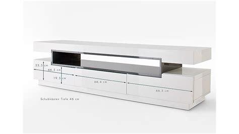Designer Tv Board by Tv Board Lowboard In Wei 223 Hochglanz