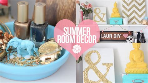 Diy Easy Room Decor by Diy Easy Summer Room Decor Laurdiy