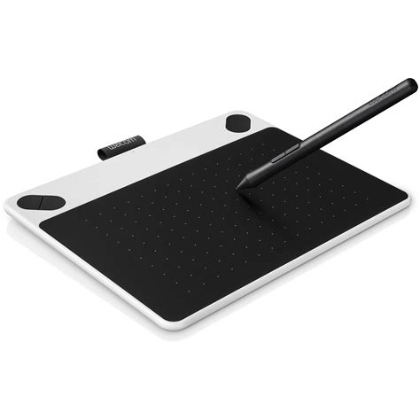 small pen wacom intuos draw pen small tablet white ctl490dw b h photo