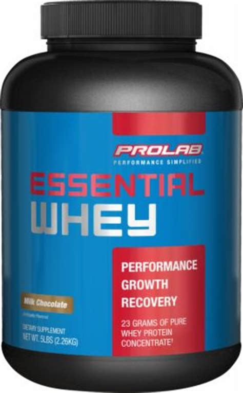 Whey Protein Prolab essential whey by prolab at bodybuilding best prices on essential whey